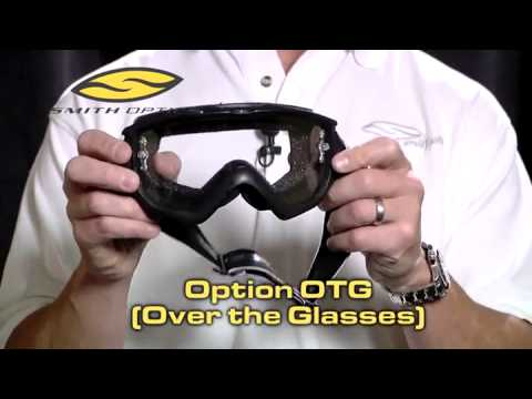 6d4cd1b139d3 Smith Option OTG Over the Glasses Motocross Goggles - YouTube
