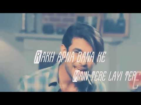 Dil Diyaa Gallaaa -Sanam Puri Whatsapp Status Video