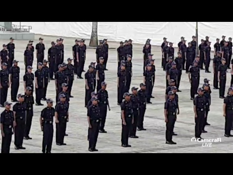 Graduation Parade The 169th Intake Full-Time Police NS Officers Sat 20 Jan 2018