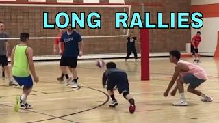 LONG RALLIES - Finals HIGHLIGHTS NCVA 2017 League 3 Volleyball Tournament