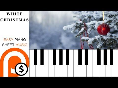 WHITE CHRISTMAS - IRVING BERLIN | EASY PIANO SHEET MUSIC | PATREON FRIDAY