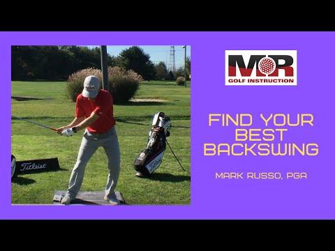 Backswing Length for Better Ball Striking w/ Mark Russo, PGA
