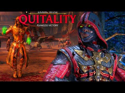 MYSTIC ERMAC DESTRUCTION WITH QUITALITY - Mortal Kombat X Enhanced Online Beta Gameplay  