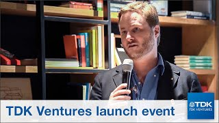 TDK Ventures launch day, September 9th, 2019