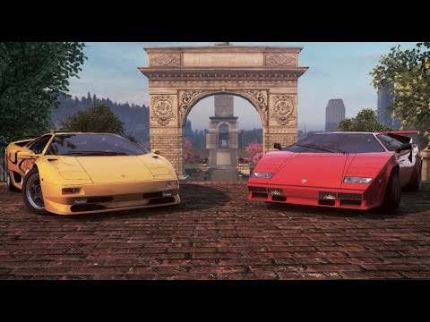 Lamborghini Countach 5000 Qv Vs Lamborghini Diablo Sv Need For