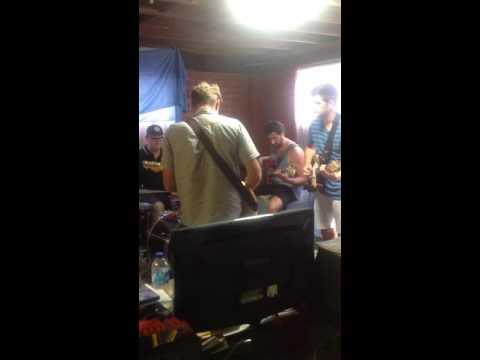 Old Man Friday full band practice - It Ain't Tahiti