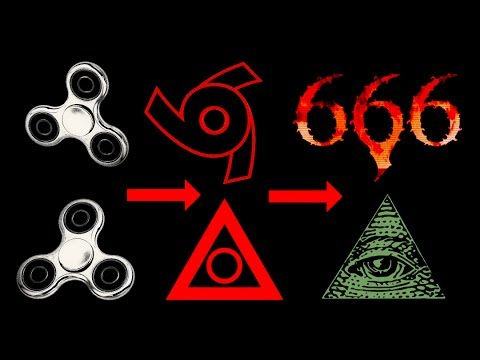 Image result for fidget spinner satanic