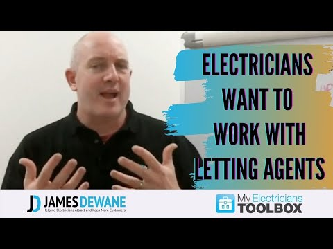 Electricians Want to Work With Letting and Estate Agents?