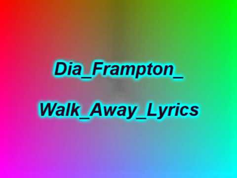 Walk away - Dia Frampton (Lyrics) แปลไทย - YouTube