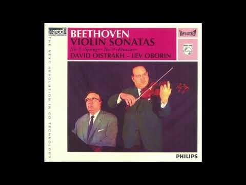 Beethoven Violin Sonatas 5 & 9 / Oistrakh & Oborin (XRCD)1962/2006