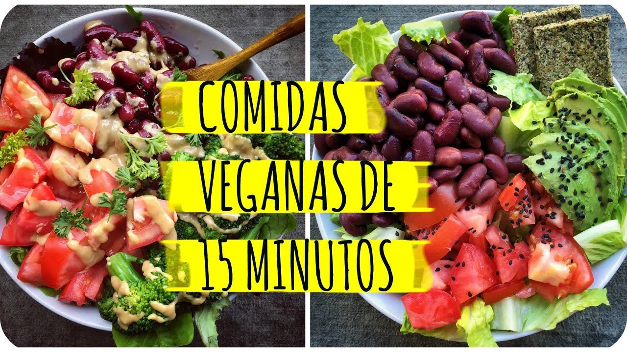 Recetas de proteinas veganas
