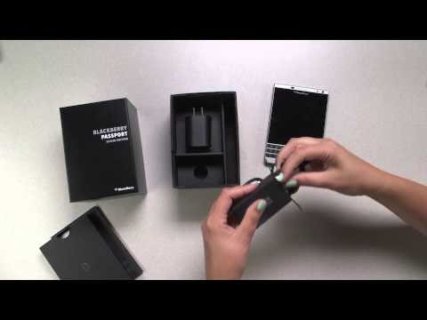 Official Unboxing: BlackBerry Passport Silver Edition