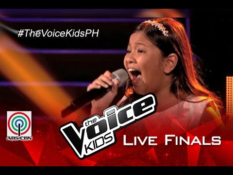 """The Voice Kids Philippines 2015 Live Finals Performance: """"Ikaw Ang Lahat Sa Akin"""" by Elha"""
