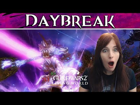PEACHY REACTS ● Daybreak ● Guild Wars 2 Living World thumbnail