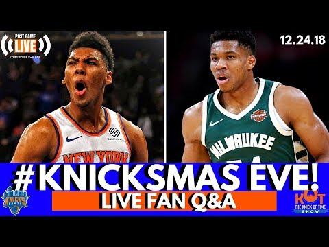 Knicks Vs. Bucks Round 3| WIN An Authentic Knicks Jersey!| Livestream Replay