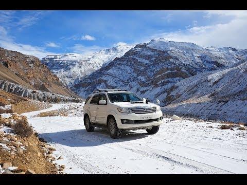 Winter Drive to the Spiti Himalaya