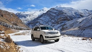 Winter Drive to the Spiti Himalaya