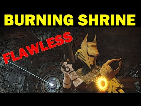 Destiny: Flawless Burning Shrine w/ Miss Death and Ocean! (Full Trials Gameplay)