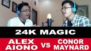 Bruno Mars - 24K Magic (SING OFF vs. Alex Aiono) REMAKE