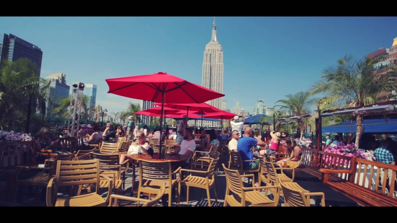 230 Fifth - New York's Largest Rooftop Bar - YouTube