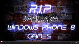Windows Phone 8 Bęst and New Games (January 2014)