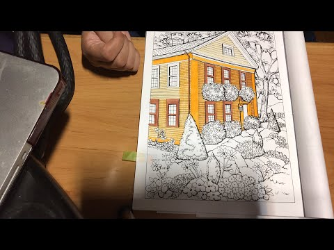 Coloring With Grace In Creative Haven Summer Scenes And New Books