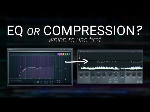 EQ or Compression First? Music Production Tutorial