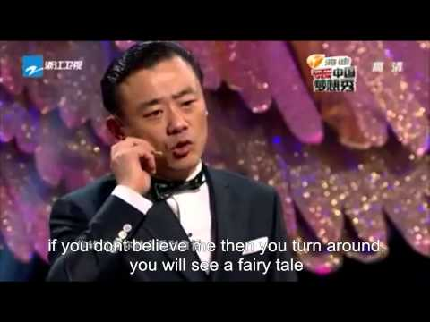 """China Dream Show"" double amputee Yang Pei (english subtitle) 中国梦想秀-断臂女孩杨佩"