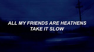 heathens // twenty one pilots lyrics