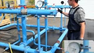 Гидростенд Ду-100. Обучение запуску и приёму ОУ.(Подготовка грамотных операторов для работы на действующем трубопроводе -- это задача, которую приходится..., 2012-08-19T11:29:13.000Z)