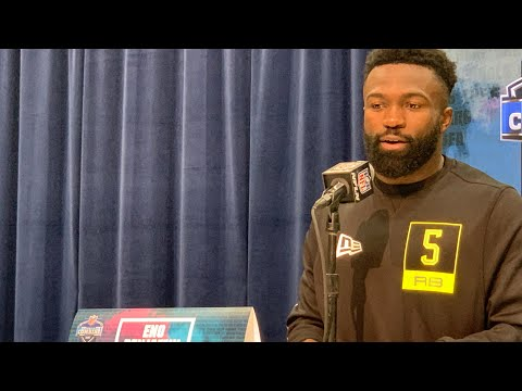 Eno Benjamin Arizona State RB Interview At 2020 NFL Combine