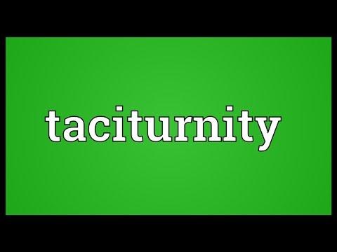 Header of taciturnity