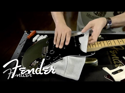 Remove Fender Telecaster Modern Player Paint