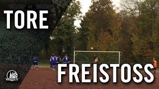 Freistoß-Schlenzer von Markus Paffendorf (SG Köln-Worringen III) | RHEINKICK.TV