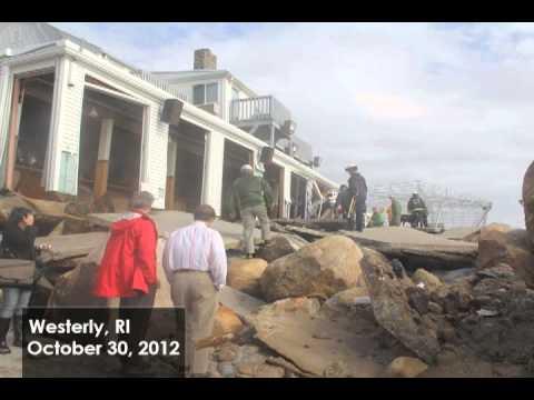Hurricane Sandy: Rhode Island