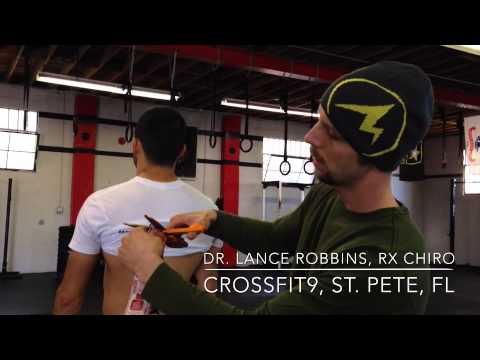 Lance Robbins' RockTape tutorial for deadlifts   CrossFit9, St. Pete, FL