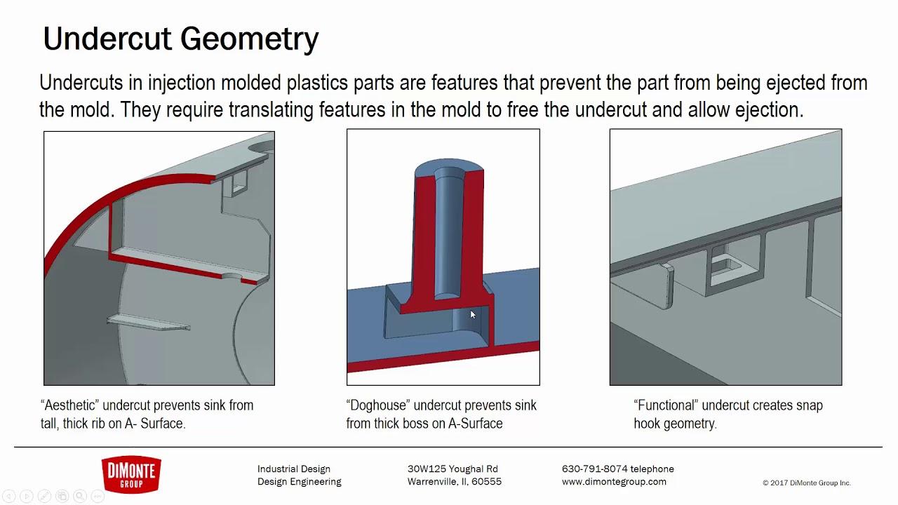 Fantastic Plastic 15 , Undercut Geometry , SOLIDWORKS Tutorial