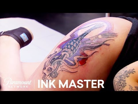 'Dripping in Finesse' Elimination Official Sneak Peek | Ink Master: Grudge Match (Season 11)