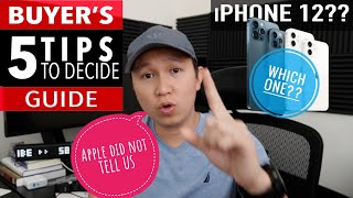 iPhone 12 - Buyer's Guİde to choose wisely
