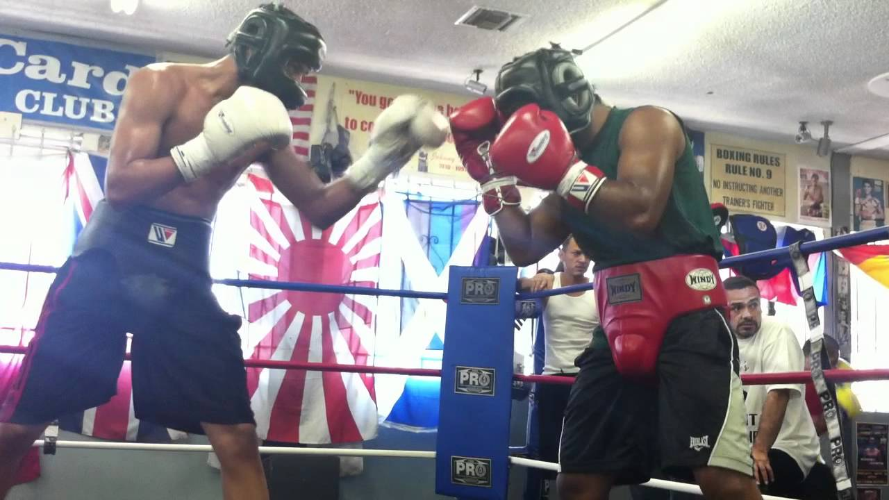 Exclusive Sparring Video of Benavidez vs Gesta at Wildcard Gym - Sparring (Round 3)