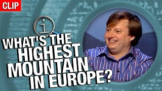 QI | What's The Highest Mountain In Europe?