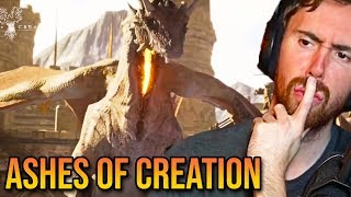 Asmongold Reacts To Ashes Of Creation Official Gameplay Teaser Trailer - Gamescom 2019