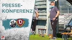 Pressekonferenz | nach dem Spiel | SV Sandhausen - SG Dynamo Dresden