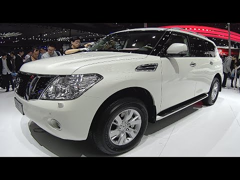 new nissan patrol 2016 2017 interior exterior video review youtube. Black Bedroom Furniture Sets. Home Design Ideas