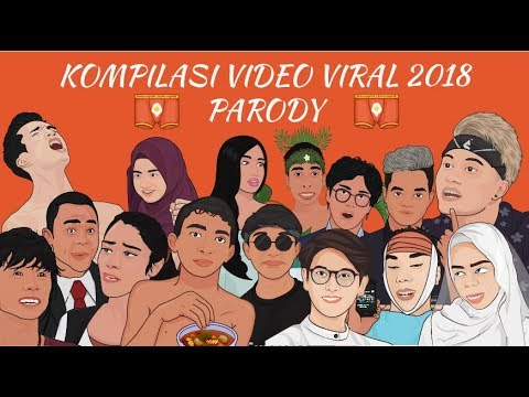 Kompilasi Video Viral Terlucu Tahun 2018 - Parody Versi Animasi