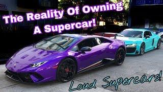 Supercar Reaction Down Miami Beach   Ft. Jr Garage & DoctaM3  