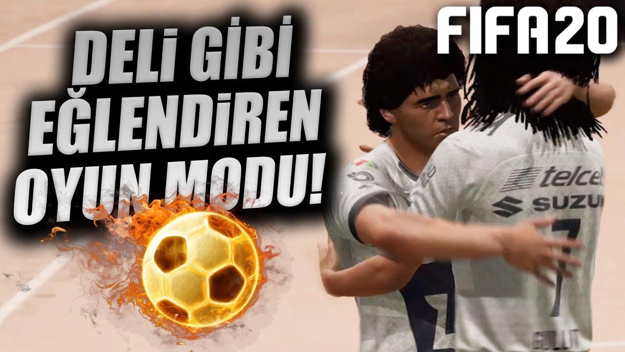 İ-NA-NIL-MAZ EĞLENCELİ OYUN MODU! (FIFA 20 OYNUYORUZ!) Videosu