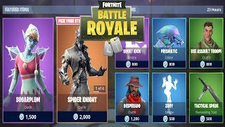 FORTNITE ITEM SHOP 30 DECEMBER | NEW SKIN SUGARPLUM ZUCCHERINA | FORTNITE DAILY SHOP