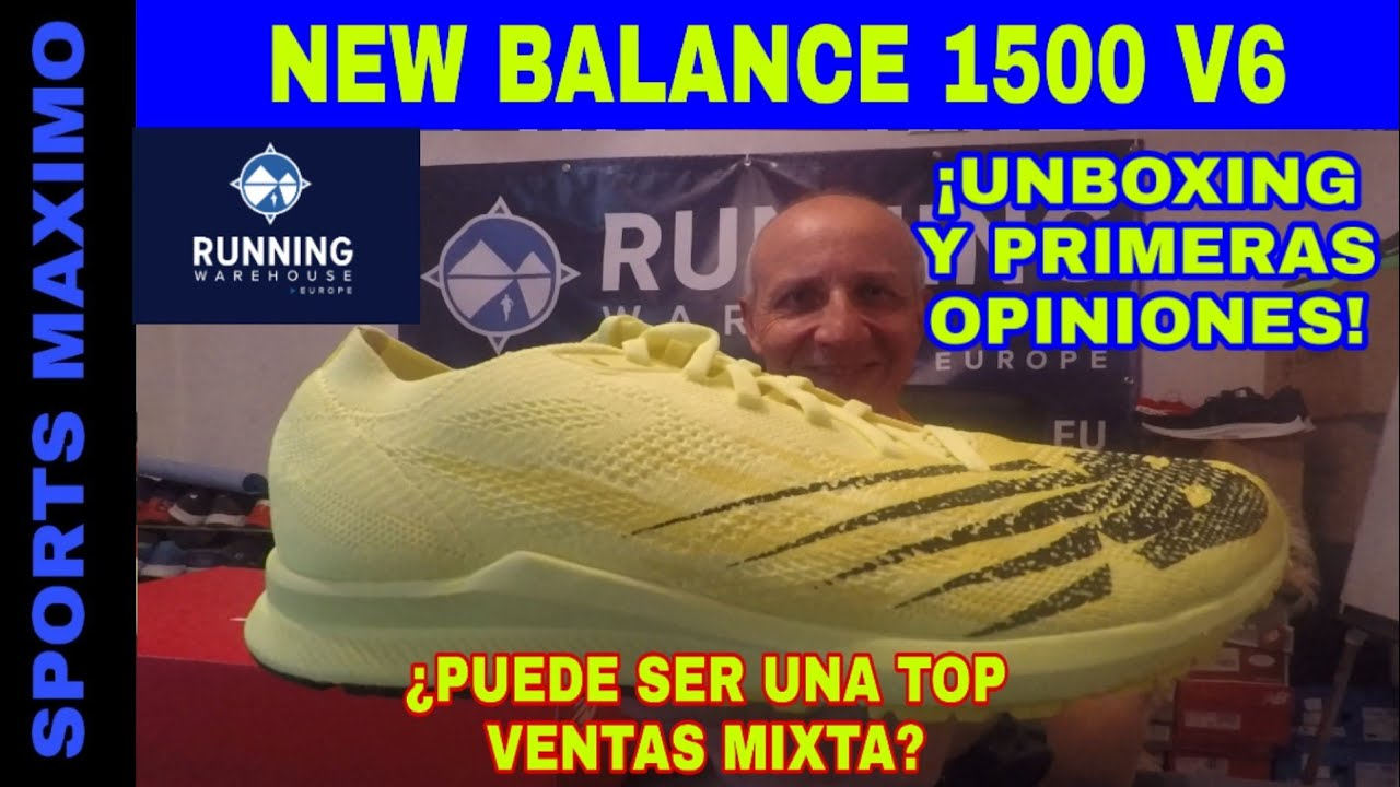 RUNNING.UNBOXING NEW BALANCE 1500 V6 Y PRIMERAS OPINIONES