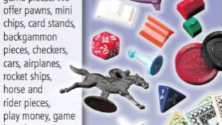 Game Pieces | Wholesale Game Parts for Board Games, Promotions & More